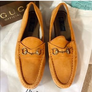 Gucci horsebit loafers. 100% authentic, no flaws